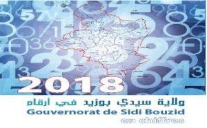 Gouvernorat de Sidi Bouzid en Chiffres  Année 2018